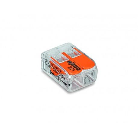 Złączka Szybkozłącze do przewodów WAGO 2x0,5mm-4mm
