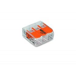 Złączka Szybkozłącze do przewodów WAGO 3x0,14mm-4mm