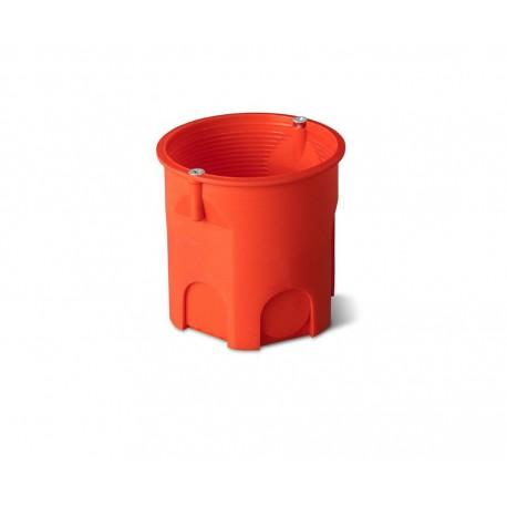 Puszka podtynkowa 60 głęboka z wkrętami 0206-51 pomarańczowa Elektro-Plast