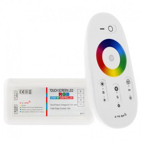 Sterownik RGB radiowy dotykowy seria Touch V3 biały 12V