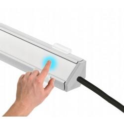 Oświetlenie LED podszafkowe kątowe z włącznikiem dotykowym i ściemniaczem PREMIUM do 200cm