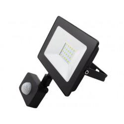 Naświetlacz LED SMD Vega 20W 4500K Czarny PIR
